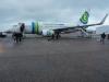 Vliegtuig heen
