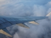 Eindelijk boven de wolken